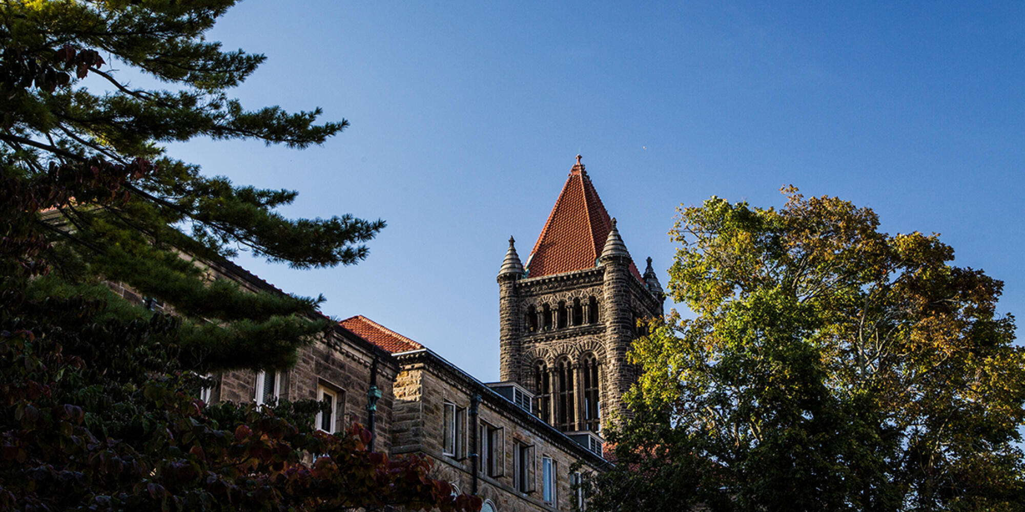 Altgeld Hall tower on the University of Illinois campus - Champaign, Illinois.